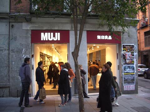 Muji en Madrid