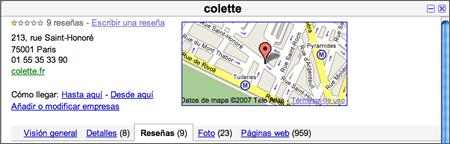 Colette en Paris