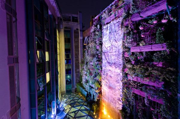 Jardín vertical 2 - Hotel Santo Domingo